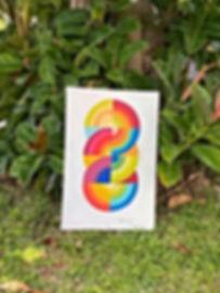 """<imgsrc=""""jessica moritz, israeli art.jpg"""" alt=""""hard edge painting, collect israeli art, tel aviv art"""">"""