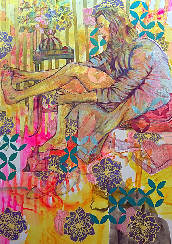 painting, contemporary art, israel, tel aviv, jessica moritz