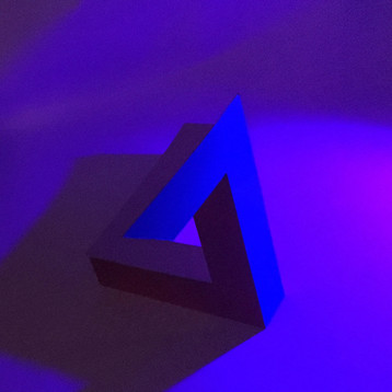 Penrose 2, purple light