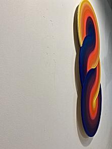 earth spectrum, israeli art for sale, israeli modern art, wall decoration, spectrum climate, collect israeli art, tlv art, abstract landscape, gradient art
