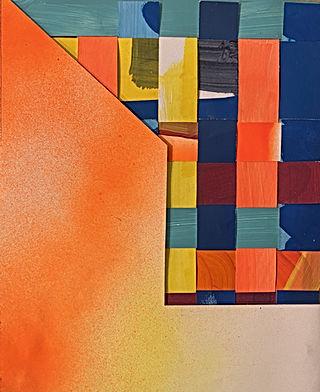 architecture collage, interior decor, minimal decor interior art, img, israeli architecture, contemporary art on paper