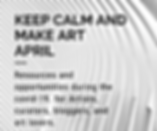 open call, open call covid-19, art resources covid 19, artist support artist, img, quarantine art.png