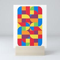 abstract geometric, bahaus inspired, art print israel, jpeg, israeli artist, saatchi artist, colorful art