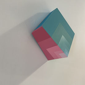 homage to the square, homage to albers, moritz colors, gradients, halation, color RGB, Contemporary art Tel aviv