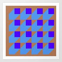hard edge art print, geometric art print, op art artist, jessica moritz,earth tones inspiration, geometric inspiration, colorfield art print