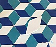 tesseract,tessellation,escher,op art, israeli artist, studio visit Tlv, pattern design