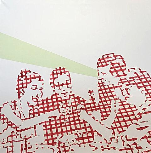 quality time, jessica moritz,img,israeli artist, moritz painting,אמנות ישראלית, pattern artist, french artist