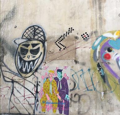 jessica moritz, wheat paste, graffti, tel aviv, tel aviv art, street art,street art israel, make love great again, poster, painting,גרפיטי,אומנות רחוב,ציור,ציורים,אמנות למכירה,