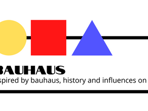 Inspired by bauhaus, history and influences on us