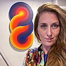 Jessica Moritz, 100 artists who are changing the conversation, diversity in arts, Art Basel 2021, Artist to watch in 2021, earth spectrum, torus painting,painterly art