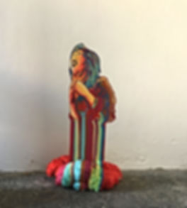 jessica moritz,ג'סיקה מוריץ ,sculpture, painting, installation,color spectrum, art installation,israeli art, curator, art for sale, emerging artist, israeli art, art talk,rainbow people, אומנות,אומנות למכירה,גלריה,תל אביב