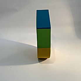 color block art, color block 2020, pantone 2021, hard edge abstraction, geometric sculpture, collect art israel, sustainable art, light and space, mindfullness art