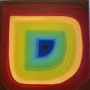 artivism, color spectrum earth, earth spectrum, art made during lockdown, op art painting, climate change is fucling real,img