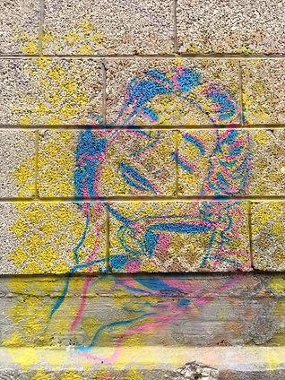tlv street art, feminist street art, stencil art, layer art, tlv streets, art ephemere, img