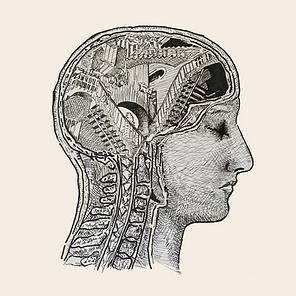 escher drawing, surrealism art, brain illustration, mental health illustration, mental health matters, art during corona, artist mood