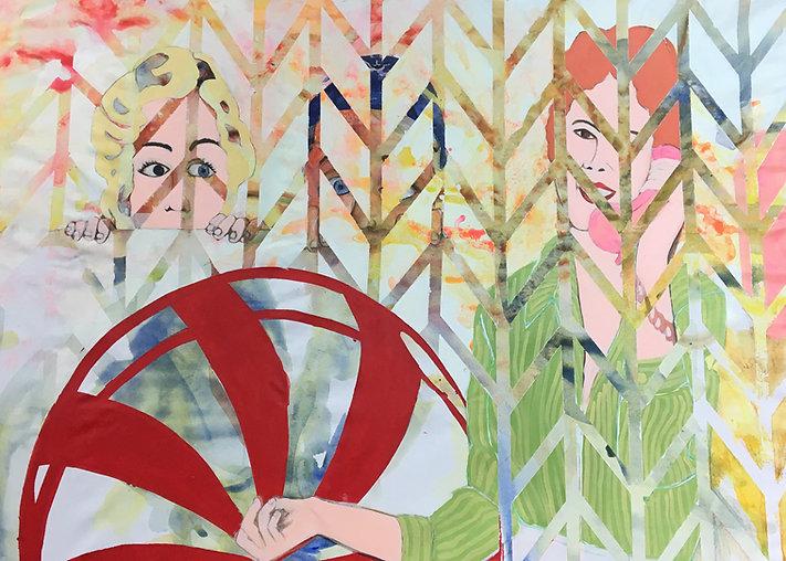 Painting, jessica moritz,contemporary art,irael, tel aviv, france, kids