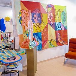 סטודיו לאמנים, ביקור בסטודיו, צייר ישראלי, אמנות ישראלית למכירה, אמנות יהודית, צבעי השראה, אמנות פנים, עיצוב פנים,img