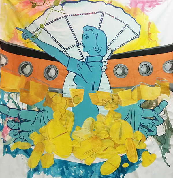 drugs dont work, israeli youth, portrait of a generation tel aviv, israeli female artist, tel aviv painting studio, color theory artist
