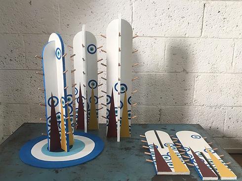 collab, jessica moritz,design,sheshbesh,backgammon, shinshin studio, art, pattern, painting,tel aviv, art, israeli art,sculpture, art for sale