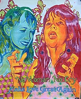 mlga, love yourself art, surface pattern people, realistic portrait, israeli art, street art tlv