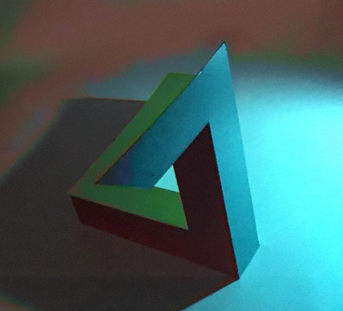 Penrose 2,  blue light