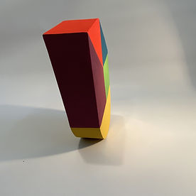 colorful interior 2020, maximalism design, art and design 2020, colorful perspective, collect israeli sculpture, inspired by bahaus, peter halley art, colorful 3D art