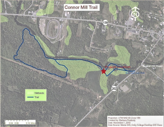 SRLT Conner Mill revised trail map 11011