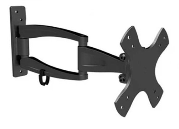 ARTICULATING TV WALL MOUNT 13-IN TO 23-IN - BLACK