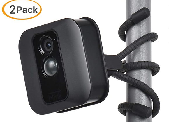 Blink 2 Pack Flexible Tripod for Blink XT,Blink XT2 Wall Mount Bracket,Attach Yo