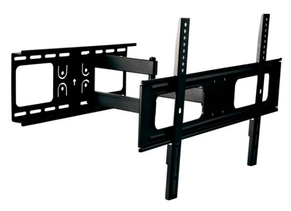 FULL MOTION TV WALL MOUNT 37-IN TO 80-IN - BLACK