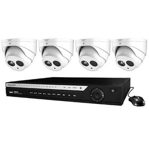 WATCHNET 1080P 4-CHANNEL 1TB PENTA-BRID DVR SECURITY SYSTEM WITH 4 X 2.1MP IR DO
