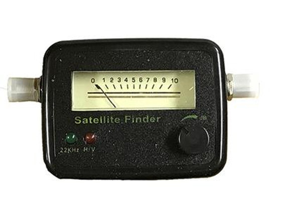 HOMEWORX ANALOG IN-LINE SATELLITE SIGNAL METER WITH TONE