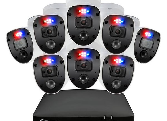 SWANN 1080P HD 8 CHANNEL 1TB HARD DRIVE DVR SECURITY SYSTEM WITH 8 X 1080P POLIC