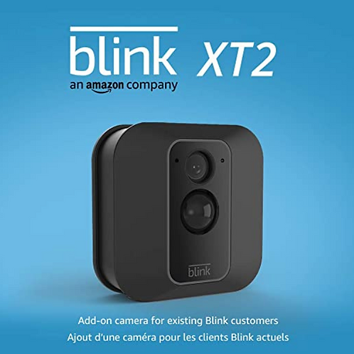Blink XT2  Add on Camera for Existing Blink - Outdoor/Indoor Smart Security