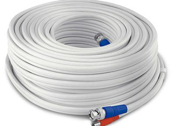 SWANN HD VIDEO AND POWER UL CERTIFIED BNC EXTENSION CABLE - 30-METER (100-FT) -