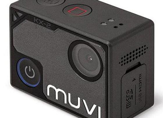 VEHO MUVI KX-2 PRO HANDSFREE 4K ACTION CAMERA WITH 12MP LENS - BLACK