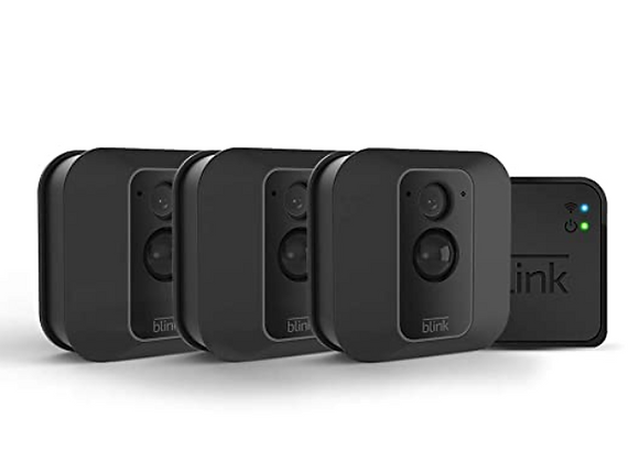 Blink XT2 3 Cams Outdoor/Indoor Smart Security Camera with cloud storage inc