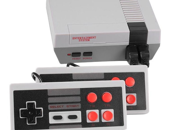 620 Games Mini  Game Console 8 Bit Retro AV Output Two Players