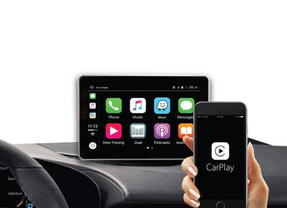 """CORAL VISION 7"""" BLUETOOTH SMART TOUCH SCREEN DEVICE COMPATIBLE WITH CARPLAY AND"""