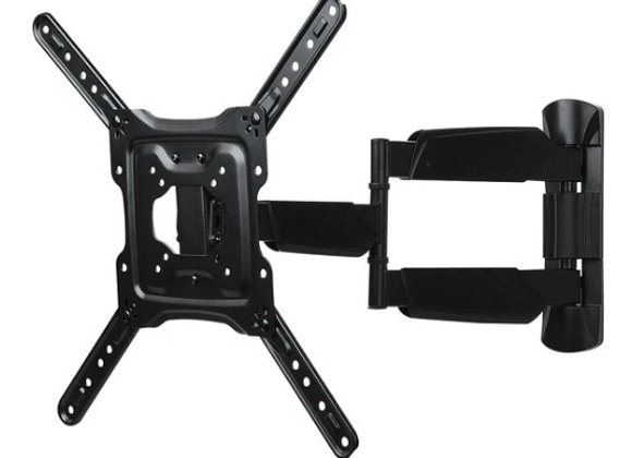 FULL MOTION TV WALL MOUNT 23-IN TO 60-IN - BLACK