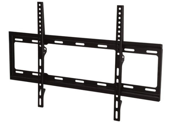 ULTRA-SLIM FIXED TV WALL MOUNT 37-IN TO 80-IN - BLACK