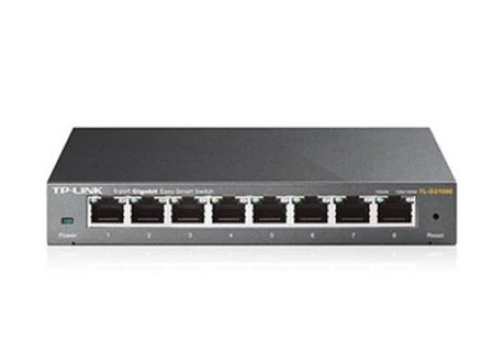 TP-LINK 8-PORT GIGABIT UNMANAGED PRO NETWORK SWITCH