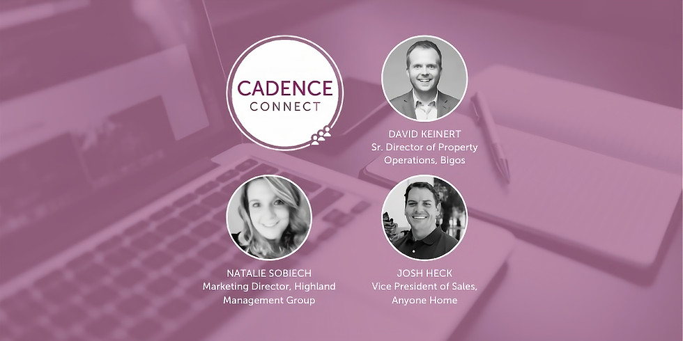 Cadence Connect - May 2021 - Disrupting the Standard Leasing Process
