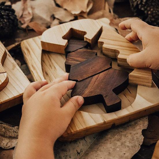 Çam Ağacı Puzzle