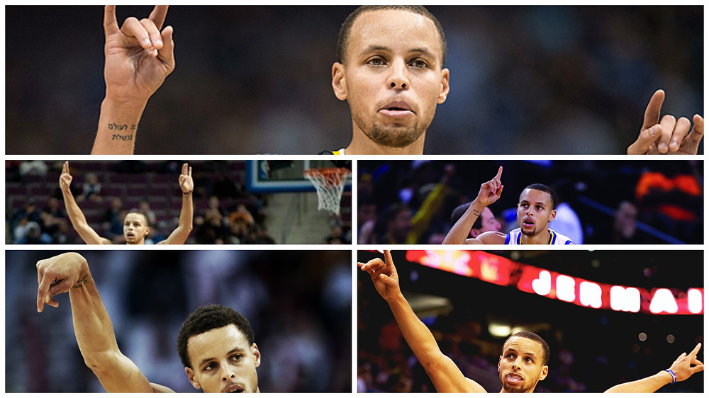 Stephen Curry Hand Signals