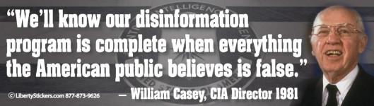 William Casey Quote 1981