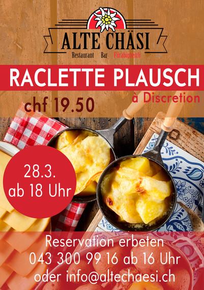 Grafiken für Restaurant Alte Chäsi Zürich