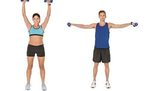 5 ejercicios básicos para mantener la forma.