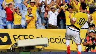 James Rompe el Hechizo con Venezuela: Colombia gana 2-0