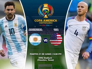 Estados Unidos VS Argentina por un Cupo a la Final.